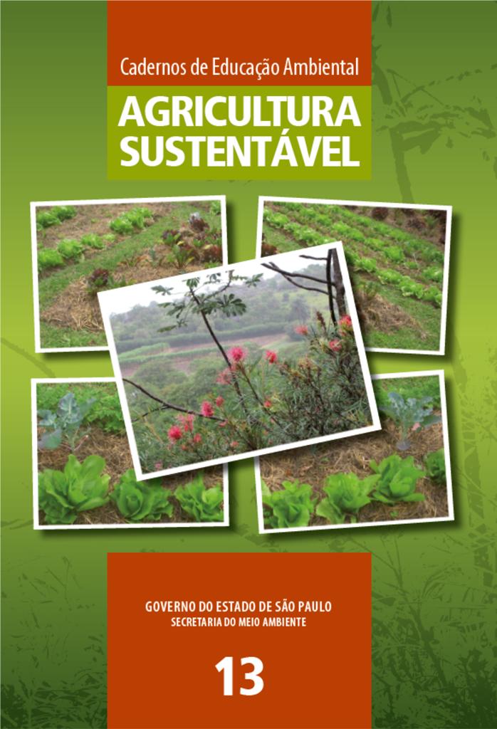Caderno 13 – Agricultura Sustentável