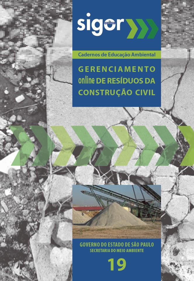 Caderno 19 – Gerenciamento online de Resíduos da Construção Civil