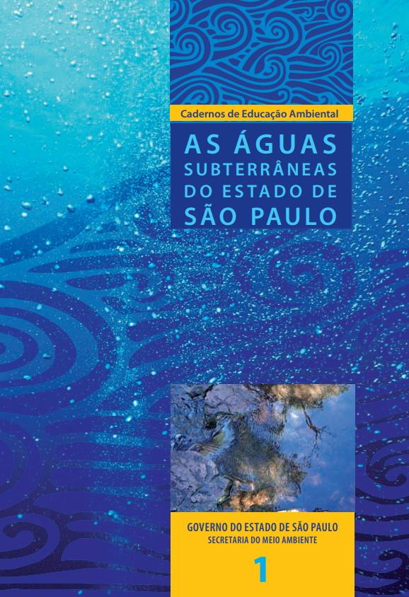 Caderno 1 – As Águas Subterrâneas do Estado de São Paulo