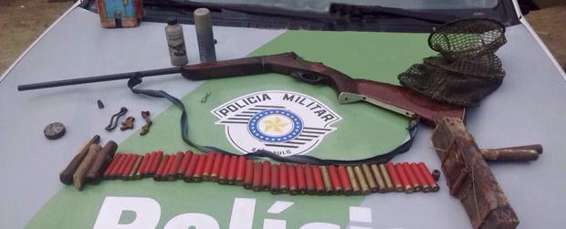 Polícia Ambiental flagra caçador na Estação Ecológica Jureia-Itatins