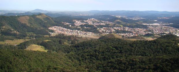Balão destrói três hectares do PE Jaraguá