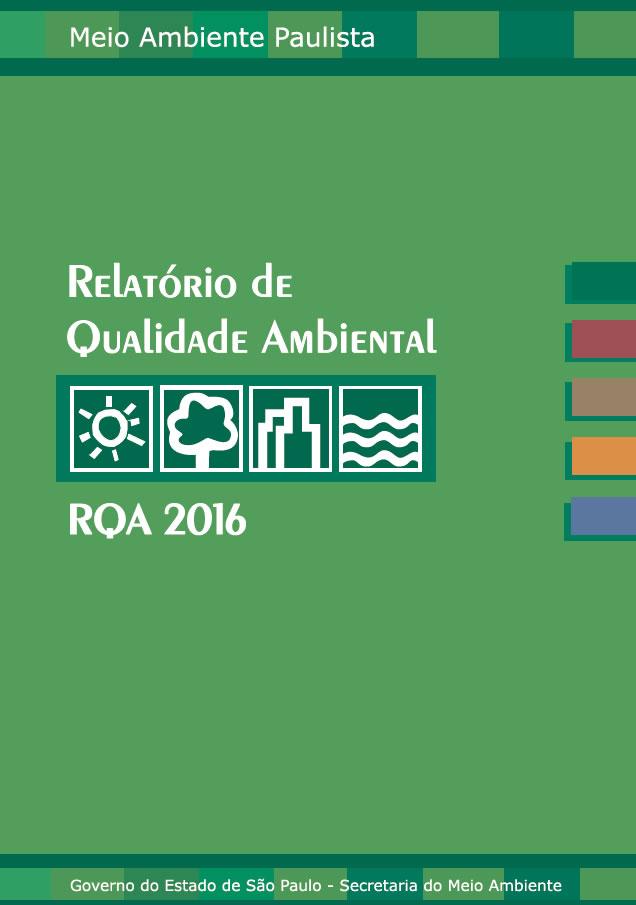 Relatório de Qualidade Ambiental 2016