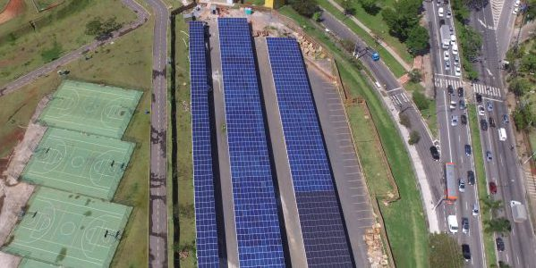 Villa-Lobos is the first park powered by solar energy