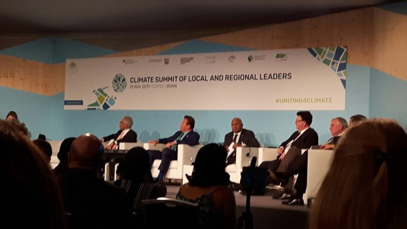 Third day of the COP23 focuses on local and integrated planning