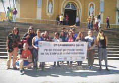 Peregrinos refazem os passos de Padre Dóriaentre Salesópolis e São Sebastião