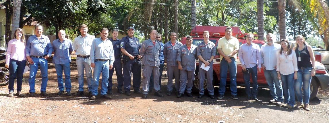 E.E. Ribeirão Preto recebe treinamento Prevenção e Combate a Incêndios