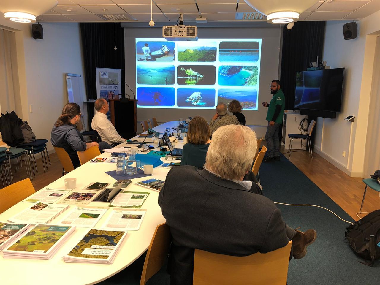 Representantes do Sistema Ambiental Paulista participam de missão técnica na Suécia
