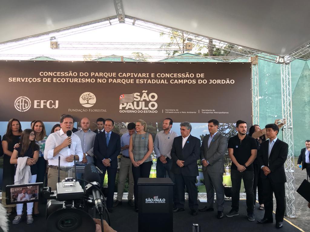 Governo de São Paulo concede Parque Capivari e Horto Florestal à iniciativa privada