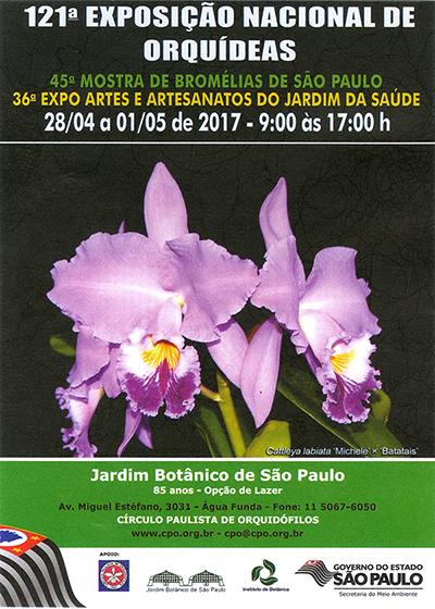 121ª Exposição Nacional de Orquídeas