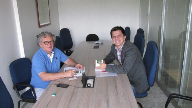PMVA e Termotécnica discutem reciclagem de isopor