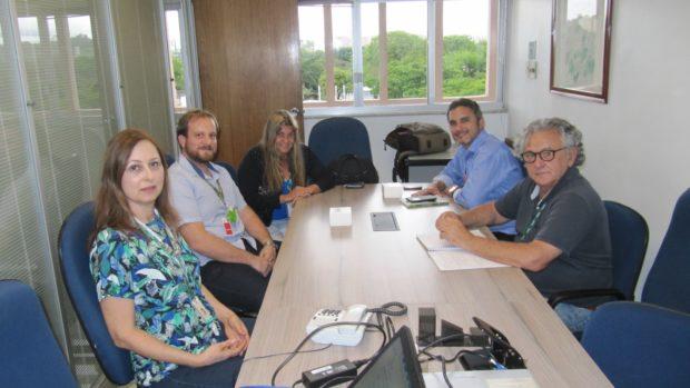 Reunião entre Elektro e PMVA sobre floresta urbana