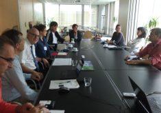 Encontro dos interlocutores do PMVA com Comissão Europeia