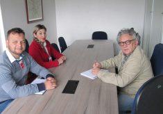 PMVA recebe interlocutores de Ibiúna