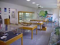 Vista parcial da sala de exposições