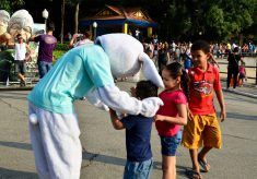 Coelhinho da Páscoa visita o Parque da Água Branca