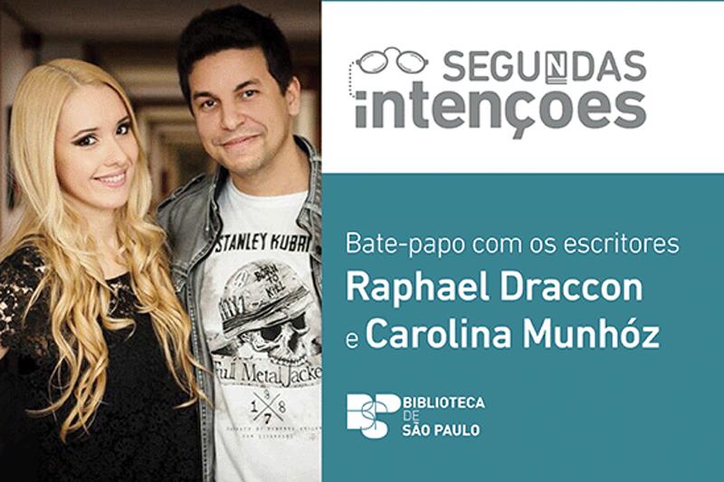 BSP recebe Raphael Draccon e Carolina Munhóz