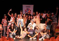 Sarau do Cravo leva Escambo Cultural à Biblioteca Villa-Lobos