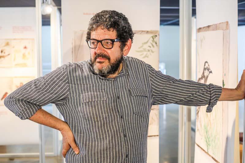 Exposição de Rubens Matuck na BVL vai até março de 2018