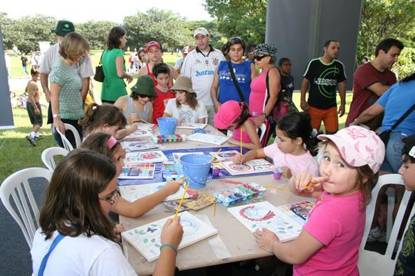 Parque Villa-Lobos recebeu público recorde no fim de semana, durante o Avistar 2008