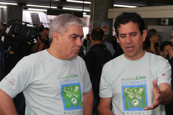 Mutirão do Lixo Eletrônico começa com distribuição de 5.000 minicoletores