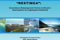 Livro do IG esclarece dúvidas sobre conceitos e emprego do termo restinga