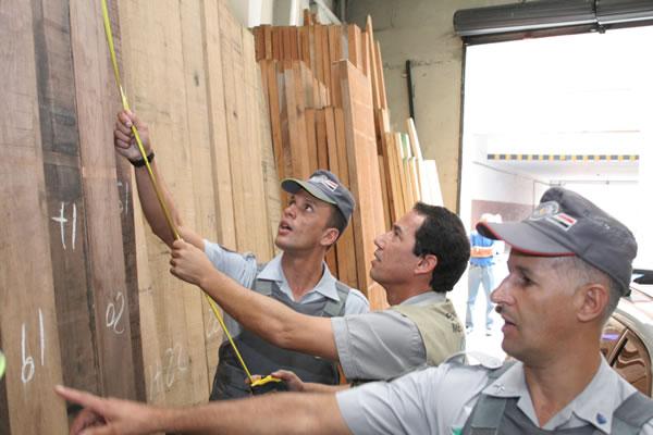 Uso de equipamentos de última geração agiliza fiscalização de madeira