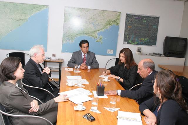 No Ano da França no Brasil representantes do governo francês discutem gestão de áreas protegidas.