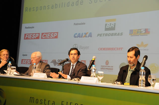 Debate aborda perspectivas do Brasil no campo ambiental
