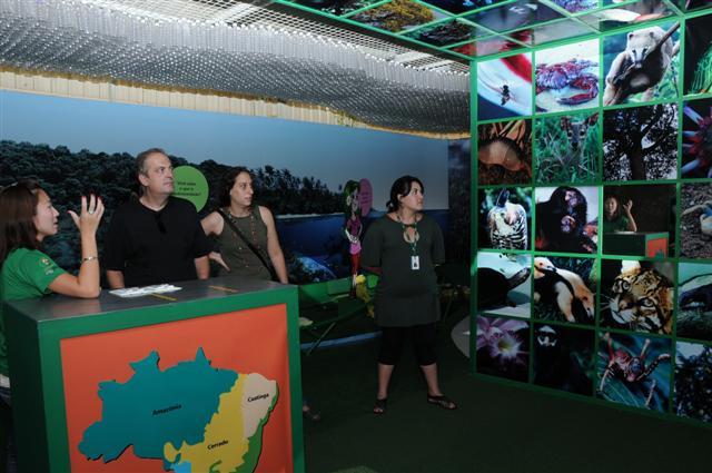 Villa Ambiental recebe a visita de ambientalistas