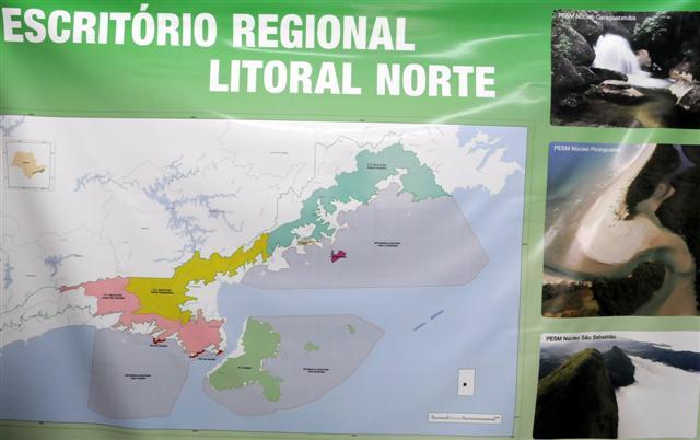 Novo escritório da Fundação Florestal vai integrar gestão das UCs do Litoral Norte