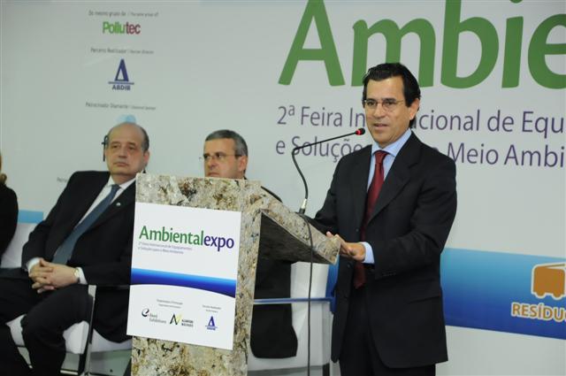 Profissionais e empresários da área ambiental se reúnem na 2ª edição da Ambiental Expo 2010