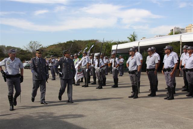 Policiamento ambiental tem novo comandante