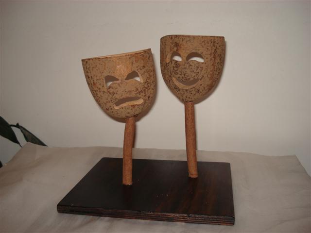 """Horto Florestal recebe exposição """"Sementes e Máscaras"""""""