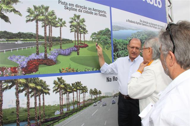 Governador lança projeto paisagístico no Parque Ecológico do Tietê