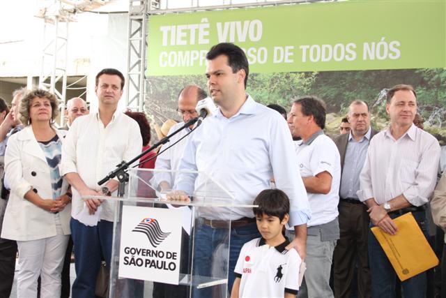 SMA participa do evento comemorativo do Dia do Tietê