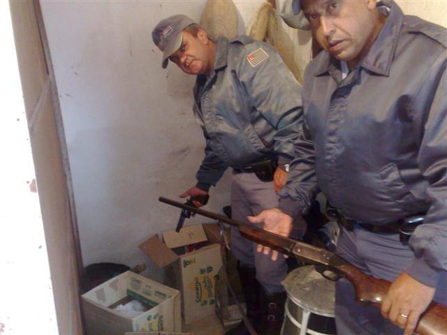 Polícia Militar Ambiental apreende armas e animais abatidos