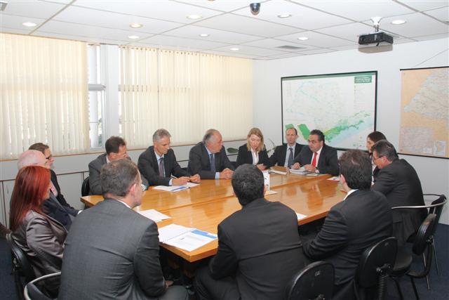 Alemanha e São Paulo trocam experiências em geração de energia limpa