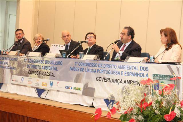 Secretário Adjunto preside mesa em Congresso de Direito Ambiental