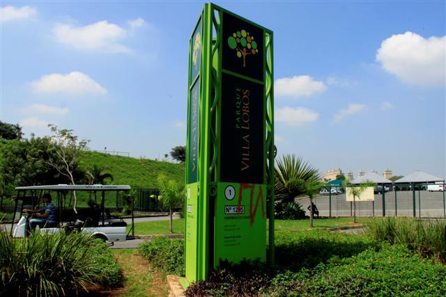 Nova entrada no parque Villa-Lobos