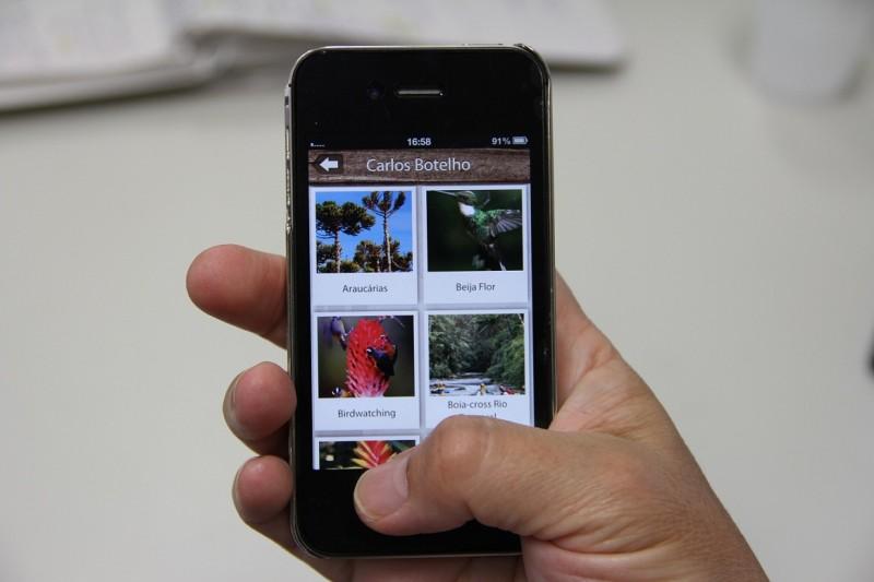 Lançado aplicativo com informações turísticas sobre parques estaduais