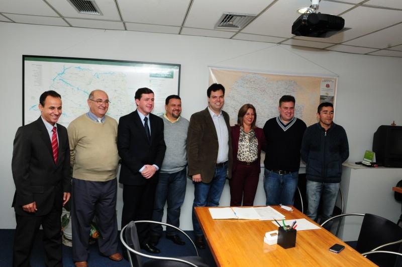 Prefeito e vereadores de Rio Grande da Serra visitam SMA