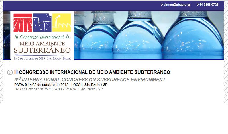 III CIMAS debaterá situação de áreas contaminadas