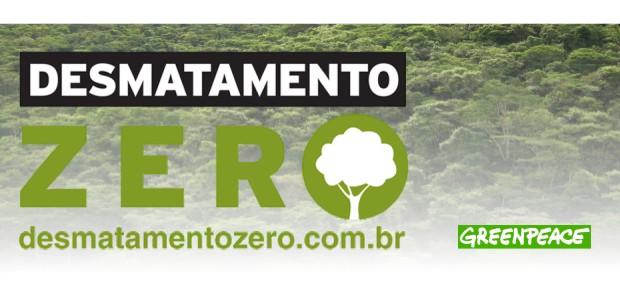 """Greenpeace realiza campanha """"Desmatamento Zero"""" no Jardim Botânico de SP"""