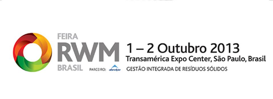 Feira RWM Brasil acontece dias 1 e 2 de outubro