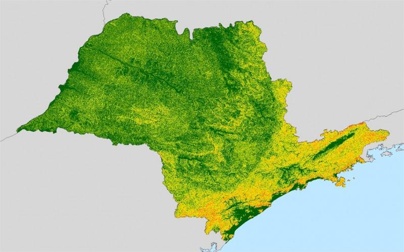 Mapas temáticos do estado são disponibilizados para download