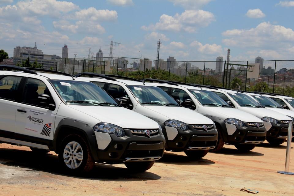 40 cidades recebem veículos para fiscalização ambiental
