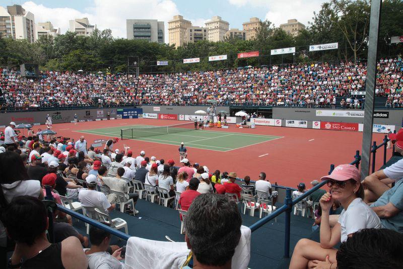 Torneio Internacional de Tênis e danças tradicionais nos parques, neste último fim de semana do ano