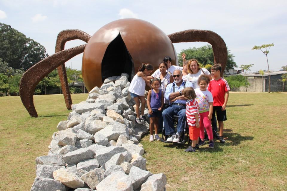 Escultura completa o visual do Parque da Juventude