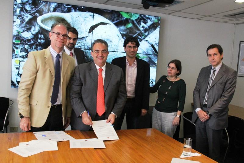 Acordo irá ampliar a restauração de florestas nas áreas de mananciais do Cantareira e do Alto Tietê