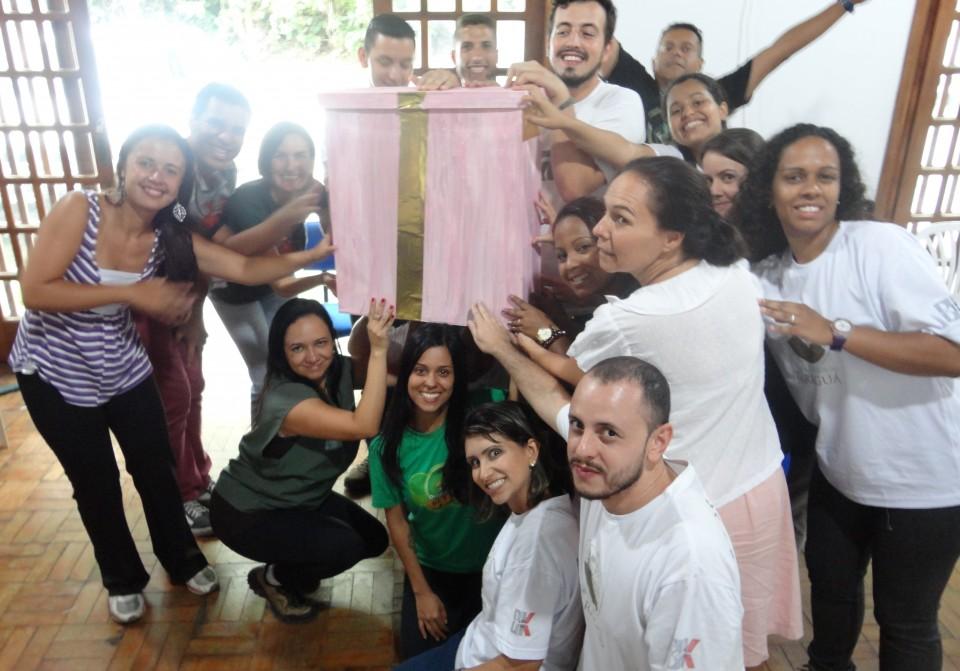 Monitores de Educação Ambiental dos Parques  Jaraguá, Cantareira e Juquery recebem formação inicial de Ecobrinquedistas